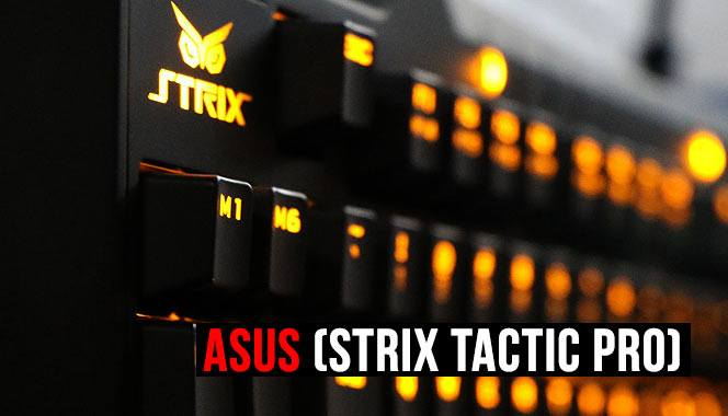 Игровая клавиатура Asus (STRIX TACTIC PRO) Mechanical Gaming Keyboard