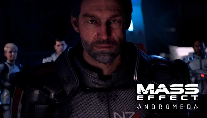 Mass Effect Andromeda Шепард